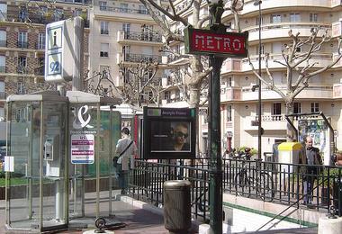 Métro Anatole France
