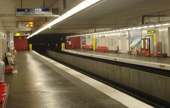 Métro Aubervilliers - Pantin Quatre Chemins