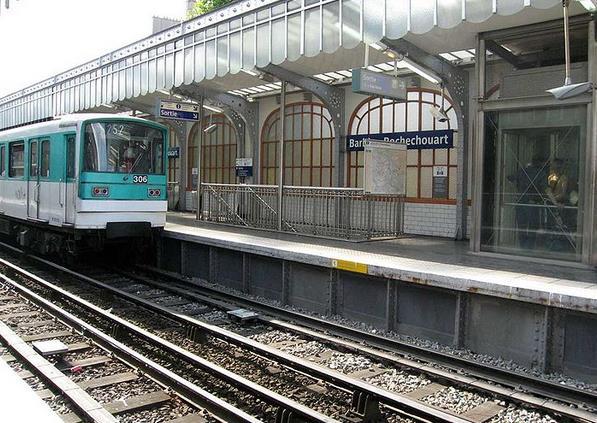 Métro Barbès - Rochechouart