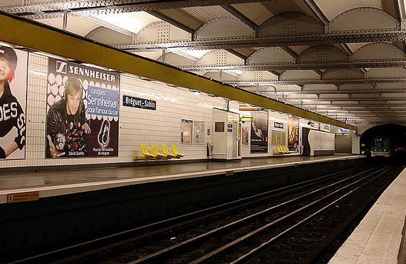Métro Bréguet - Sabin