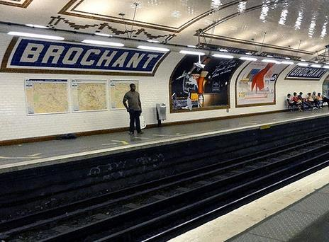Métro Brochant