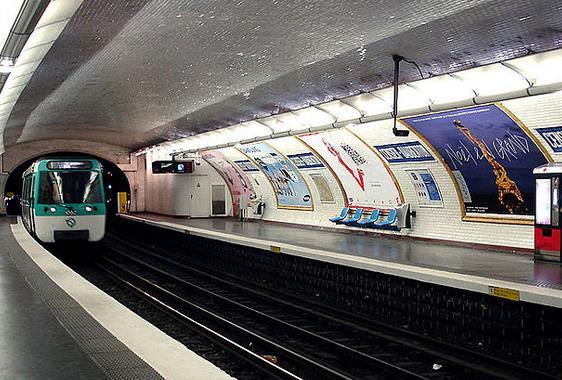 Métro Censier-Daubenton