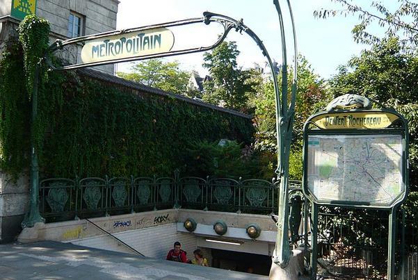 Métro Denfert-Rochereau