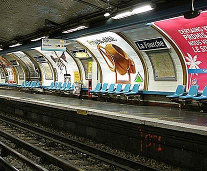 Métro La Fourche