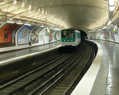 Métro Lamarck - Caulaincourt