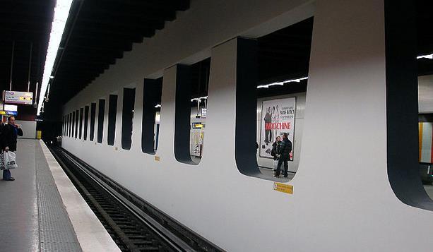 Métro Les Halles