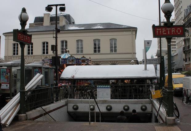 Métro Mairie d'Issy