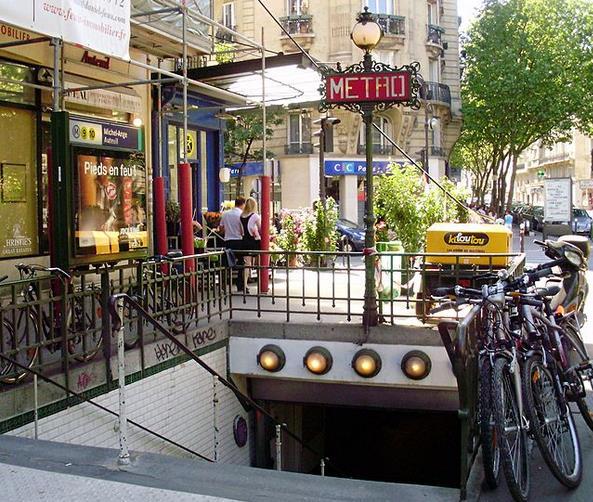 Métro Michel-Ange - Auteuil