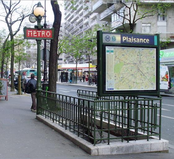 Métro Plaisance