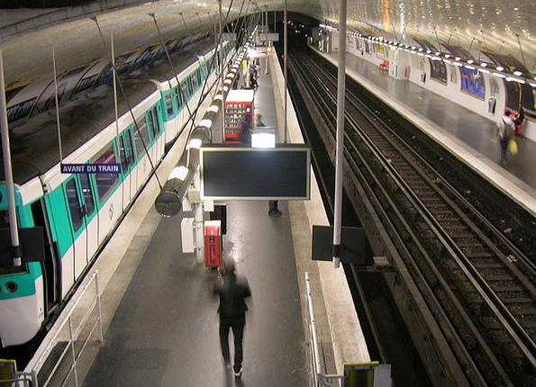 Métro Porte d'Ivry