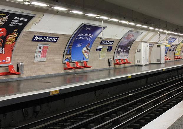 Métro Porte de Bagnolet