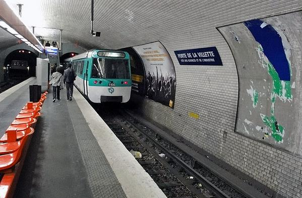Métro Porte de la Villette