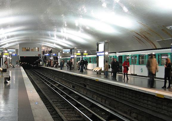 Métro Porte de Montreuil