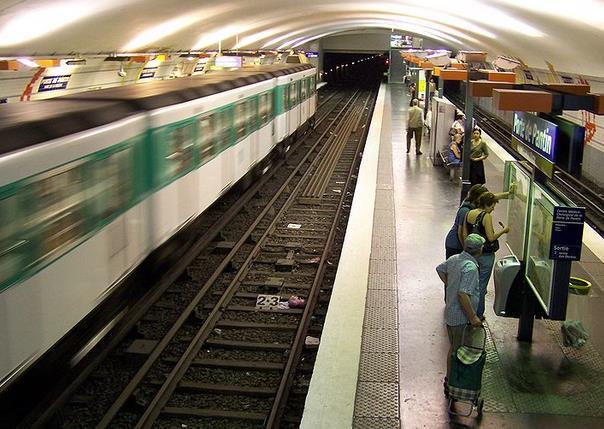 Métro Porte de Pantin