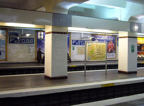 Métro Porte de Saint-Cloud