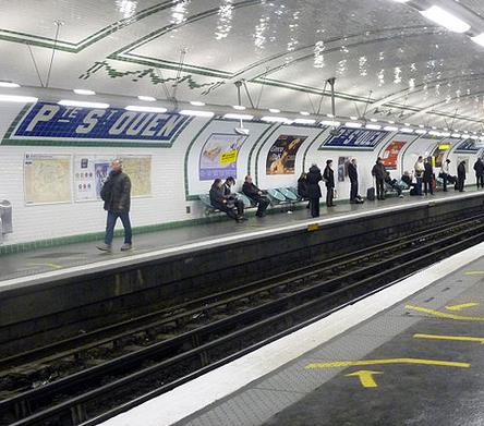 Métro Porte de Saint-Ouen