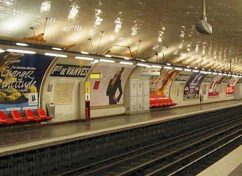 Métro Porte de Vanves
