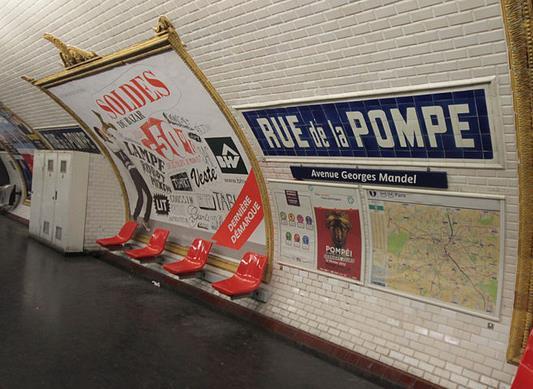 Métro Rue de la Pompe