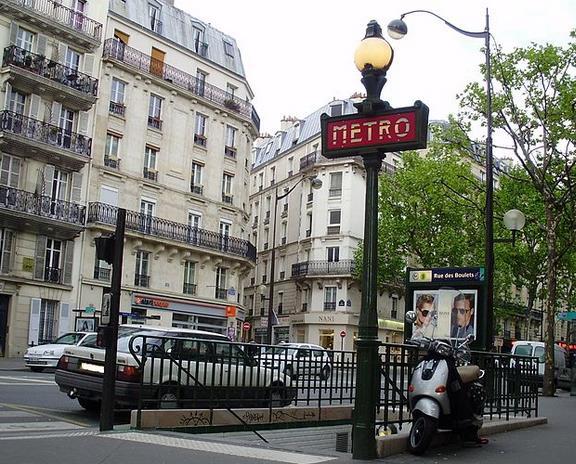 Métro Rue des Boulets