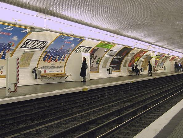 Métro Saint-Ambroise