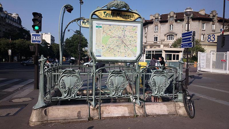 Métro Saint-Marcel