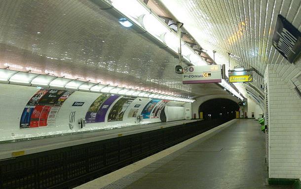 Métro Simplon