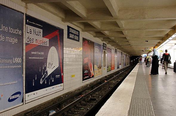Métro Strasbourg - Saint-denis