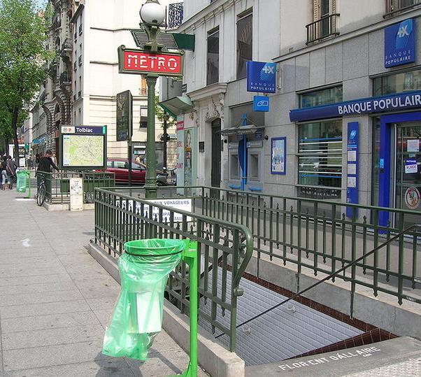 Métro Tolbiac