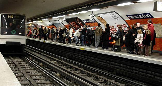 Métro Trocadéro