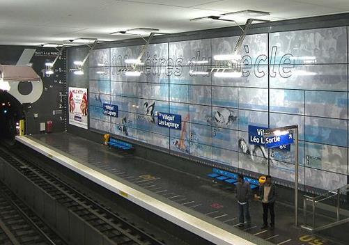 Métro Villejuif - Léo Lagrange