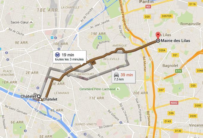 Ligne 11 Metro Paris Plan Horaires Et Stations