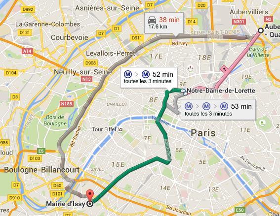 Plan metro ligne 12 - Trajet metro gare de lyon porte de versailles ...