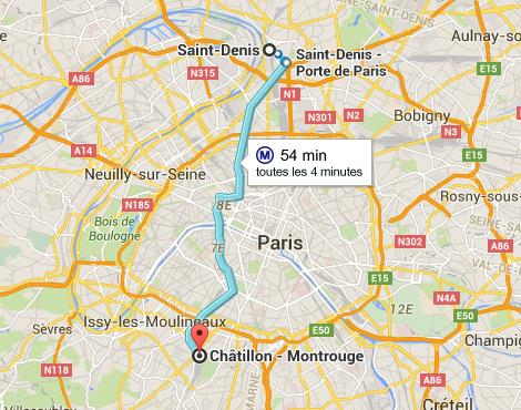 plan q paris Montrouge